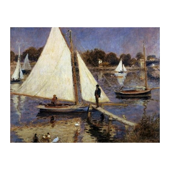 """""""The Seine at Argenteuil, 1874"""""""