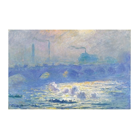 """Waterloo Bridge, Effect of the Mist, 1903"""