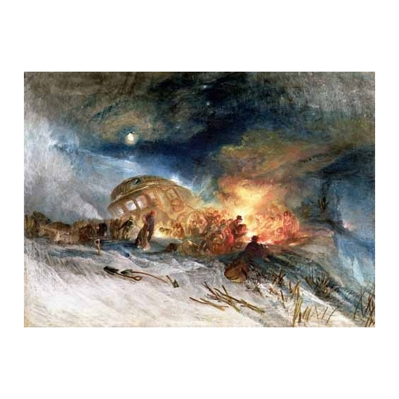 """""""Travellers in a Snowdrift"""""""