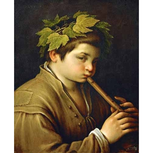 """""""Boy with flute"""""""