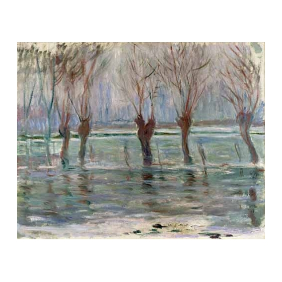 """""""Flood waters at Giverny, 1896"""""""