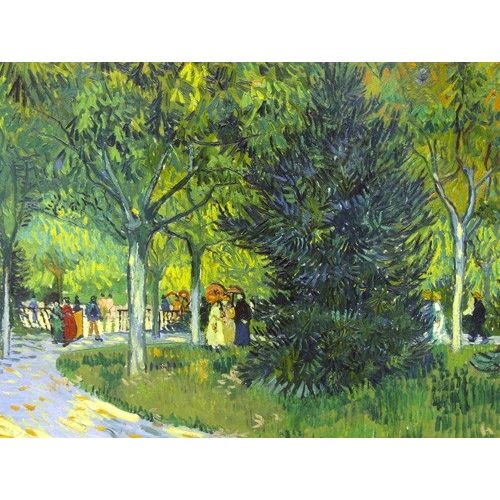 """Cuadro """"Path in the park, 1888"""""""