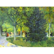 "Cuadro ""Path in the park, 1888"""