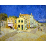 "Cuadro ""The yellow house, 1888"""