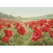 "Cuadro ""Campo de amapolas (Field Of Poppies)"""