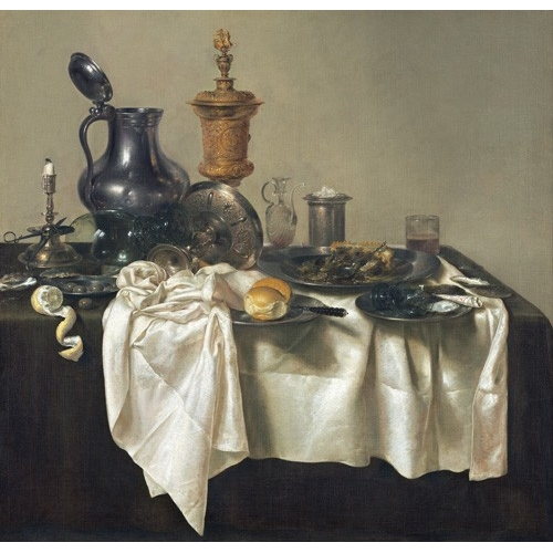 """Banquet Piece with Mince Pie, 1635"""