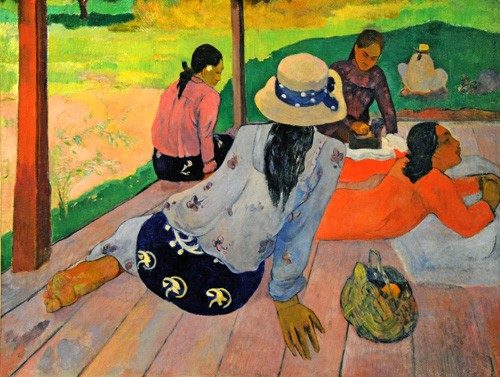 Comprar portrait and figure - La siesta online - Gauguin, Paul