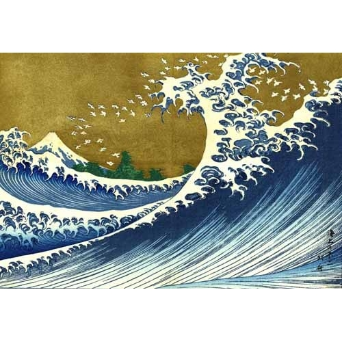 Comprar ethnic and oriental paintings - Gran ola online - Hokusai, Katsushika