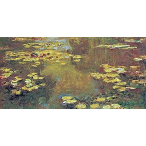 "Cuadro ""The Pond of Water Lilies, 1919"""