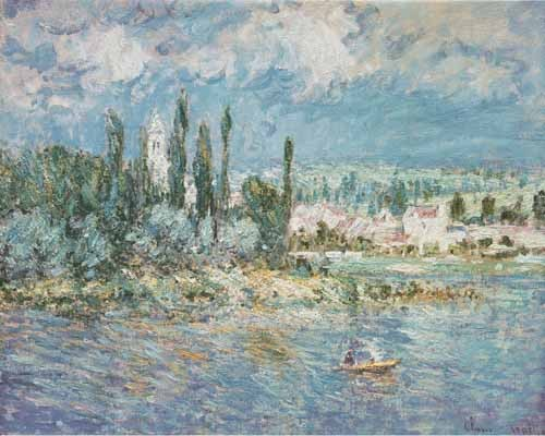 seascapes - Thunderstorms - Monet, Claude