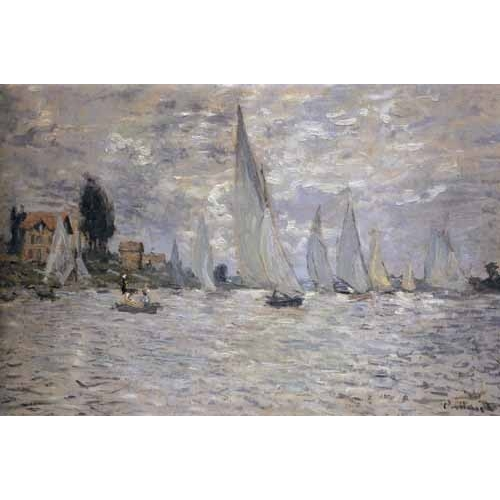 Comprar seascapes - Regatas en Argenteuil online - Monet, Claude