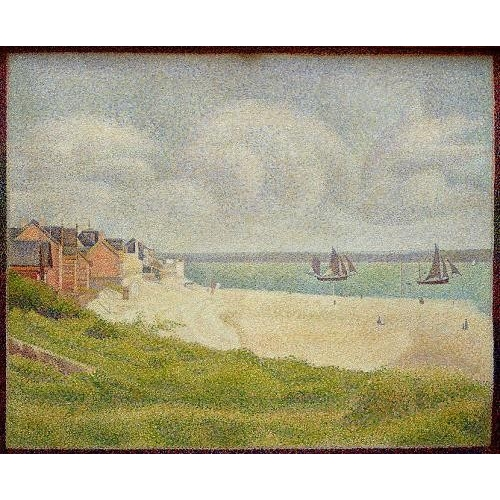 Comprar seascapes - Le Crotoy looking Upstream, 1889 online - Seurat, Georges