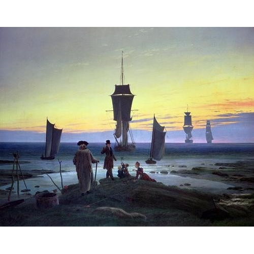 Comprar seascapes - The Stages of Life, 1835 online - Friedrich, Caspar David