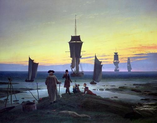 Comprar cuadros de marinas - Cuadro The Stages of Life, 1835 online - Friedrich, Caspar David