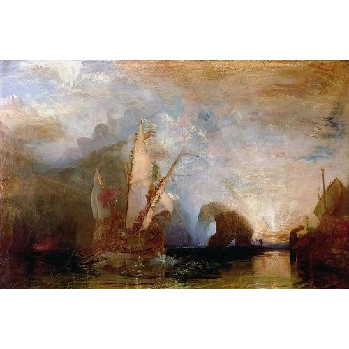 Comprar seascapes - Ulisses Deriding Polyphemus, 1829 online - Turner, Joseph M. William