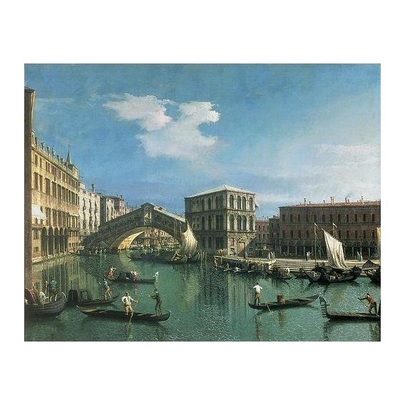 """The Rialto Bridge, Venice"""