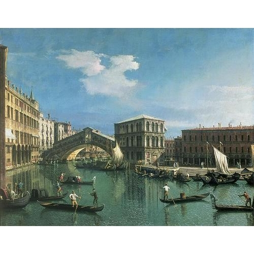 "Cuadro ""The Rialto Bridge, Venice"""