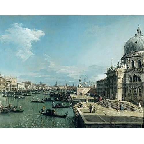 Comprar cuadros de marinas - Cuadro The Entrance to the Grand Canal, Venice online - Canaletto, Giovanni A. Canal