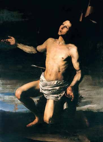 religious paintings - San Sebastián - Ribera, Jose de