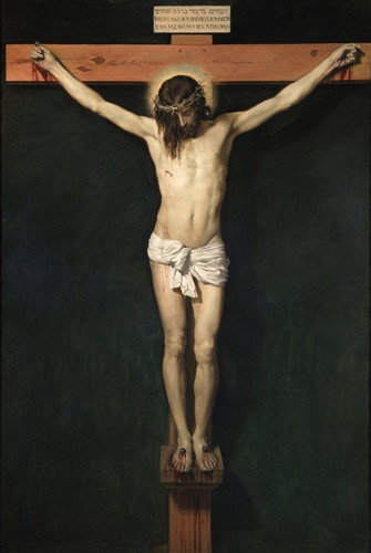 religious paintings - Cristo Crucificado - Velazquez, Diego de Silva