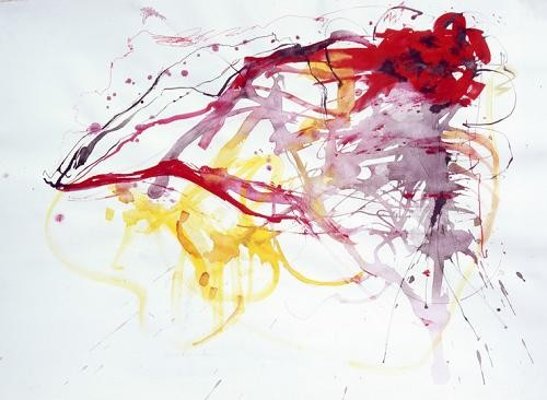 abstracts paintings - Abstracto TH_020 - Herrador, Teresa