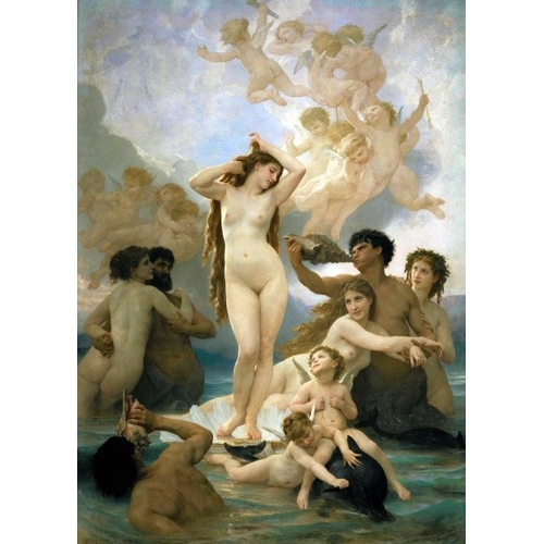 Comprar nude paintings - El nacimiento de Venus online - Bouguereau, William