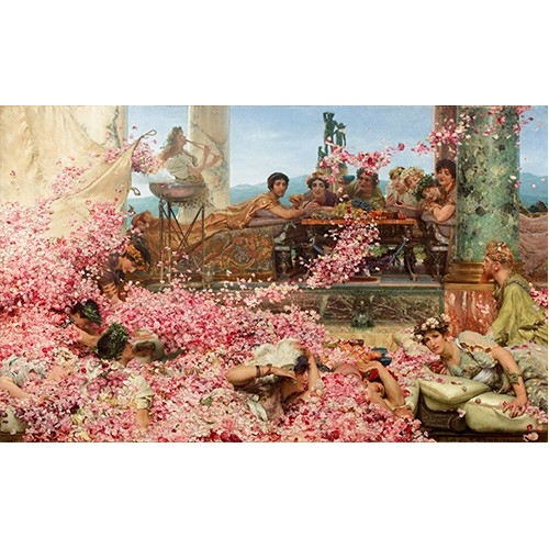 Comprar  - Cuadro The Roses of Heliogabalus online - Alma-Tadema, Lawrence