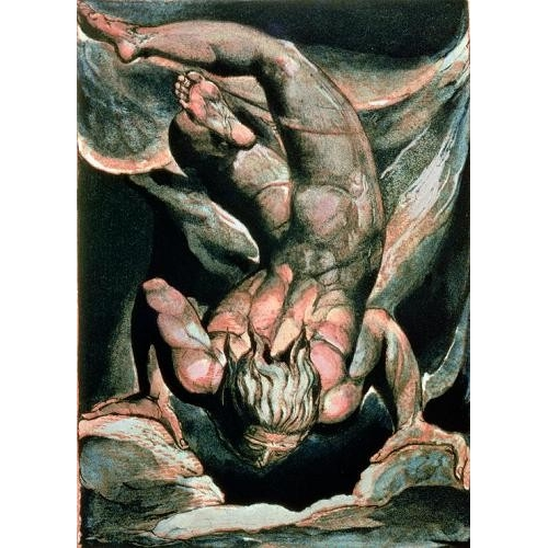 Comprar  - Cuadro The First Book of Urizen, Man floating upside down online - Blake, William