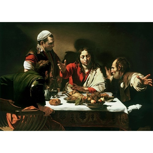 Comprar religious paintings - The Supper at Emmaus, 1601 online - Caravaggio, Michelangelo M.