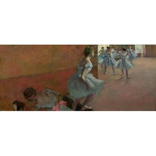 Cuadro Dancers Ascending a Staircase, c.1886-88