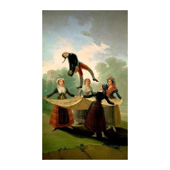 """El Pelele (The Puppet) 1791-2 (oil on canvas)."""