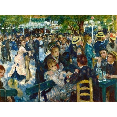 Cuadro Ball at the Moulin de la Galette, 1876
