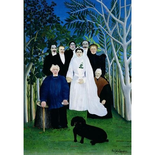 Comprar  - The Wedding Party, 1904-05 online - Rousseau, Henri