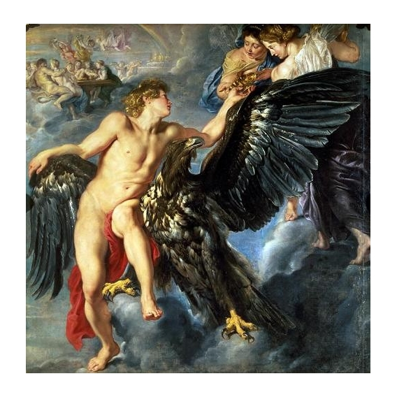 """The Kidnapping of Ganymede"""