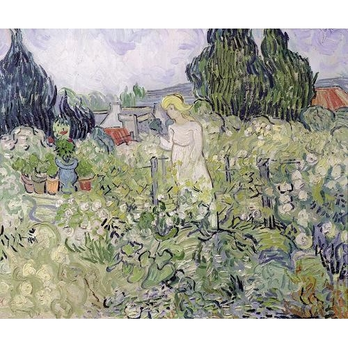 Comprar  - Cuadro Mademoiselle Gachet in her garden at Auvers-sur-Oise, 1890 online - Van Gogh, Vincent