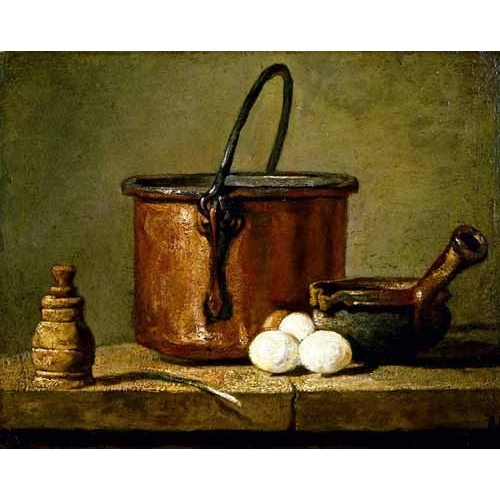 Chardin jean bapt simeon paintings buy cheap paintings for Utensilios de cocina oriental