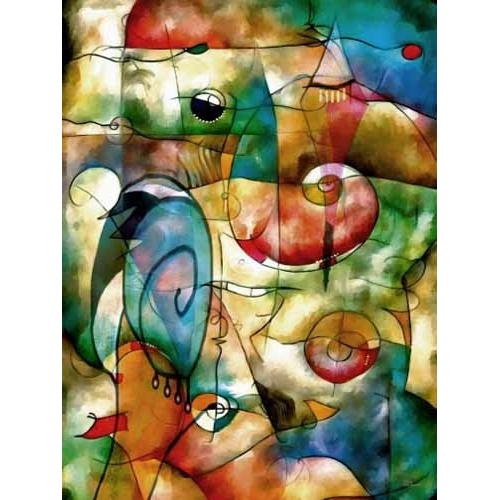 Comprar abstracts paintings - Moderno CM1278 online - Medeiros, Celito