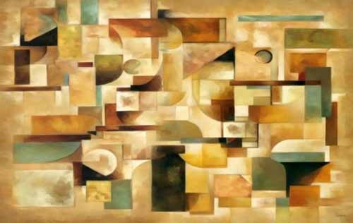 abstracts paintings - Moderno CM1279 - Medeiros, Celito