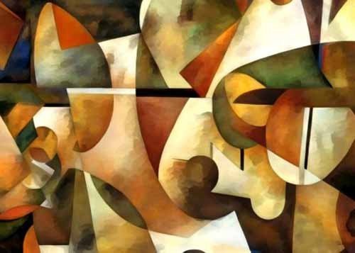 abstracts paintings - Moderno CM1284 - Medeiros, Celito