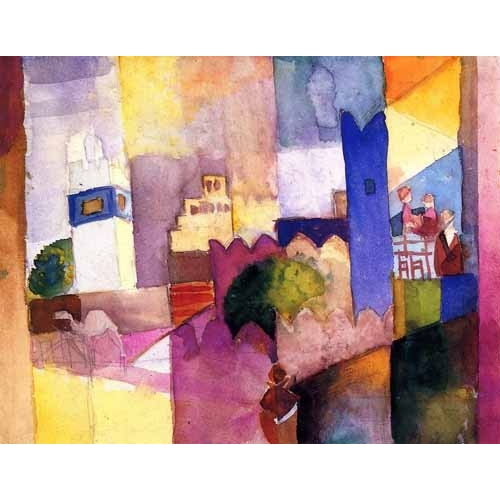 Comprar  - Paint-023 online - Macke, August