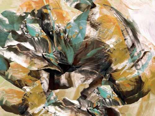 abstracts paintings - Moderno CM3595 - Medeiros, Celito