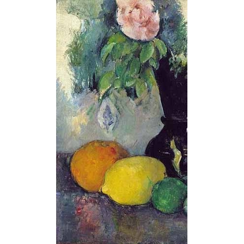 Comprar Still life paintings - Flores y frutas (1886) online - Cezanne, Paul