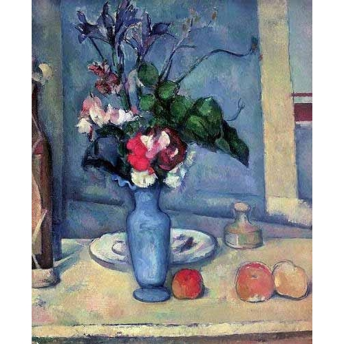 Comprar Still life paintings - El jarrón azul (1889-90) online - Cezanne, Paul