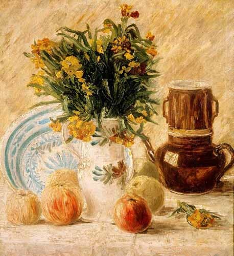 Still life paintings - Bodegón, 1887 - Van Gogh, Vincent