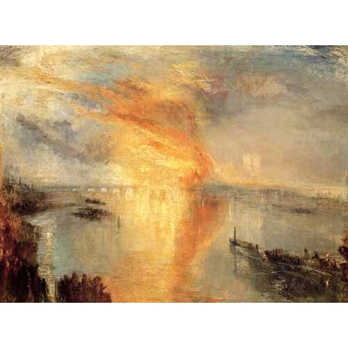 Comprar  - The burning of the house of L online - Turner, Joseph M. William