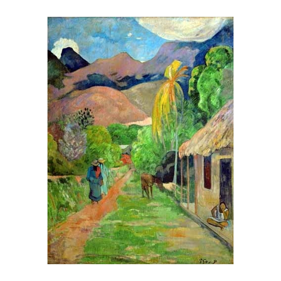 """Path In Papeete, Rue du Tahiti"""