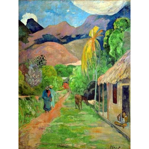 Comprar landscapes - Path In Papeete, Rue du Tahiti online - Gauguin, Paul