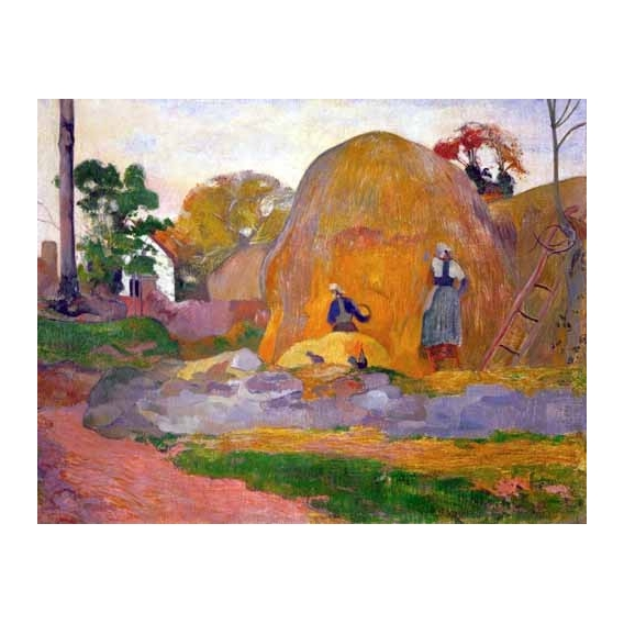 The yellow haystack, 1889