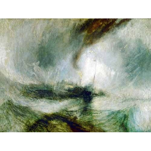 Comprar seascapes - Snow Storm online - Turner, Joseph M. William