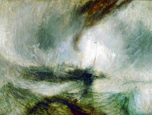 cuadros de marinas - Cuadro Snow Storm - Turner, Joseph M. William